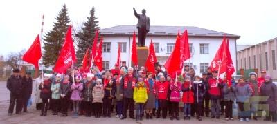 Пионерский салют Великому Октябрю-2