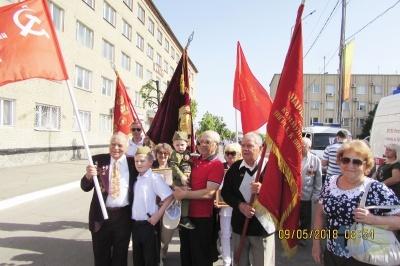 День Победы в Россоши-1